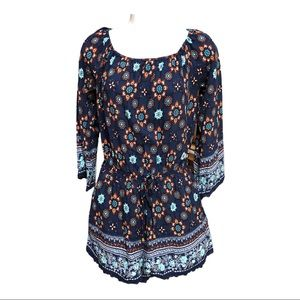 One the land Off The Shoulder Romper - M